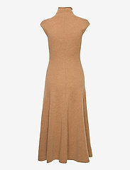 Polo Ralph Lauren - Cashmere Sleeveless Dress - midi dresses - collection camel - 2