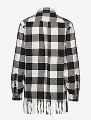 Polo Ralph Lauren - BRUSHED COTTON-LSL-SHT - overshirts - 407 black/cream - 1