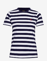 Polo Ralph Lauren - Striped Short-Sleeve Tee - striped t-shirts - cruise navy/ whit - 0
