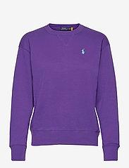 Polo Ralph Lauren - Fleece Pullover - sweatshirts - purple rage - 0