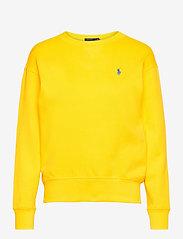 Polo Ralph Lauren - Fleece Pullover - sweatshirts - university yellow - 1