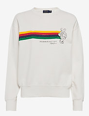Polo Ralph Lauren - Fleece Polo Bear Pullover - sweatshirts - deckwash white - 0