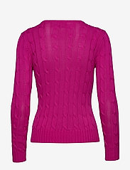 Polo Ralph Lauren - Cable-Knit Cotton Sweater - jumpers - accent pink - 1