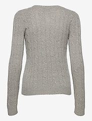 Polo Ralph Lauren - Cable-Knit Cashmere Sweater - jumpers - battalion grey he - 2