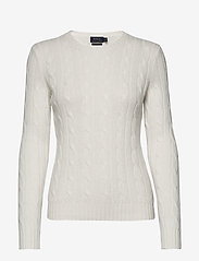 Polo Ralph Lauren - Cable-Knit Cashmere Sweater - jumpers - cream - 0