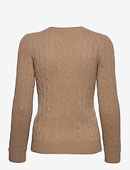 Polo Ralph Lauren - Cable-Knit Cashmere Sweater - swetry - luxury beige heat - 1