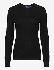 Polo Ralph Lauren - Cable-Knit Cashmere Sweater - jumpers - polo black - 0