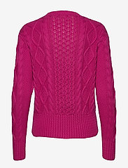 Polo Ralph Lauren - Cotton Cable-Knit Sweater - jumpers - accent pink - 1
