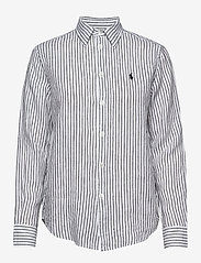 Polo Ralph Lauren - Relaxed Fit Linen Shirt - long-sleeved shirts - 542f white/polo b - 0
