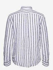 Polo Ralph Lauren - Relaxed Fit Linen Shirt - langærmede skjorter - 925 white/blue - 2