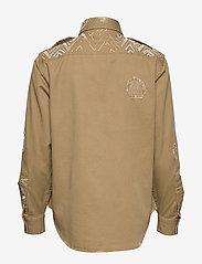 Polo Ralph Lauren - Beaded Twill Shirt - long-sleeved shirts - desert tan - 1