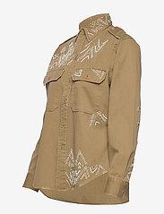 Polo Ralph Lauren - Beaded Twill Shirt - long-sleeved shirts - desert tan - 2