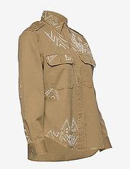 Polo Ralph Lauren - Beaded Twill Shirt - long-sleeved shirts - desert tan - 3