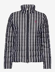 Polo Ralph Lauren - Striped Packable Down Jacket - wyściełane kurtki - navy/white stripe - 1