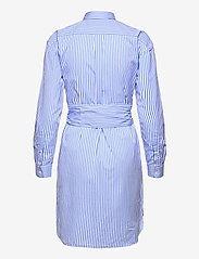 Polo Ralph Lauren - Striped Belted Shirtdress - everyday dresses - 784b white/blue - 2