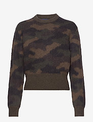 Polo Ralph Lauren - Camo-Print Wool Sweater - swetry - camo - 0