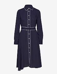Polo Ralph Lauren - Buckled Shirtdress - midi dresses - cruise navy - 0
