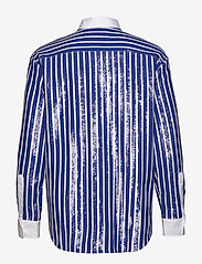Polo Ralph Lauren - Sequined Stripe Shirt - long-sleeved shirts - blue/white - 1