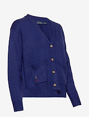 Polo Ralph Lauren - Silk Long-Sleeve Cardigan - cardigans - fall royal - 3