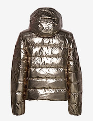 Polo Ralph Lauren - Metallic Down Jacket - padded jackets - olive pewter - 3