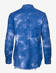 Polo Ralph Lauren - Tie-Dyed Oxford Shirt - long-sleeved shirts - spa royal - 1