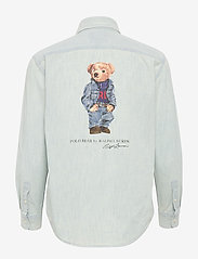Polo Ralph Lauren - Polo Bear Chambray Shirt - denim shirts - chambray - 1