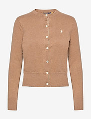 Cotton Cardigan - COLLECTION CAMEL