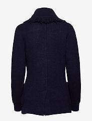 Polo Ralph Lauren - Wool-Blend Sweater Blazer - wełniane kurtki - hunter navy - 1