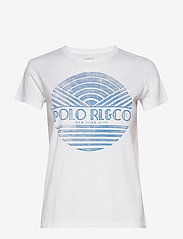 Polo Ralph Lauren - Cotton Jersey Graphic Tee - t-shirts - white - 1