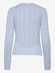 Polo Ralph Lauren - Cable-Knit Cotton Cardigan - cardigans - pale blue - 2