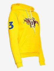 Polo Ralph Lauren - Fleece Hoodie - hættetrøjer - university yellow - 3