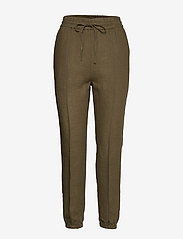 Polo Ralph Lauren - BRNSN JOGGER-STRAIGHT-PANT - casual trousers - basic olive - 0
