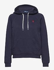 Polo Ralph Lauren - LT WT SEASONAL FLC-LSL-KNT - hoodies - cruise navy - 0
