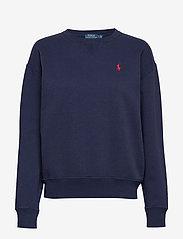 Fleece Pullover - CRUISE NAVY