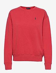 Fleece Pullover - SPRING RED