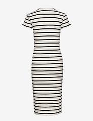 Polo Ralph Lauren - Striped Cotton Dress - midi dresses - nevis/ polo black - 1
