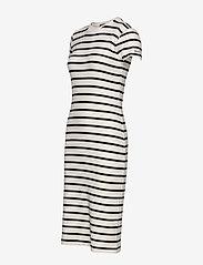 Polo Ralph Lauren - Striped Cotton Dress - midi dresses - nevis/ polo black - 2
