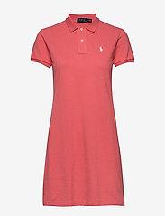 Polo Ralph Lauren - Cotton Polo Dress - short dresses - amalfi red - 0