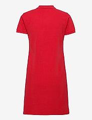 Polo Ralph Lauren - Cotton Polo Dress - hverdagskjoler - rl 2000 red/c7998 - 2