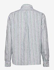 Polo Ralph Lauren - Striped Linen Shirt - long-sleeved shirts - 508 blue green/wh - 1