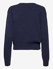 Polo Ralph Lauren - Wool-Blend Crewneck Sweater - jumpers - boathouse navy he - 2