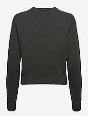 Polo Ralph Lauren - Wool-Blend Crewneck Sweater - jumpers - stadium grey heat - 1