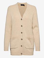 Polo Ralph Lauren - Wool-Blend Cardigan - cardigans - tallow cream heat - 0