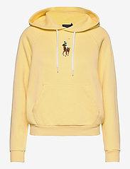 Polo Ralph Lauren - Pony Fleece Hoodie - hoodies - banana peel - 1