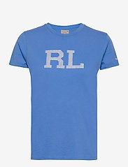 Polo Ralph Lauren - RL Cotton Jersey Tee - t-shirts - colby blue - 1