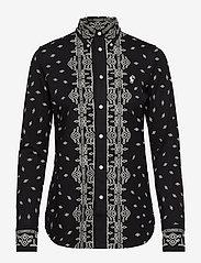 Polo Ralph Lauren - Bandanna-Print Cotton Shirt - chemises à manches longues - new classic black - 0
