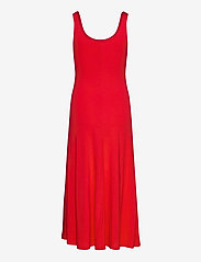 Polo Ralph Lauren - Jersey Sleeveless Dress - everyday dresses - african red - 2