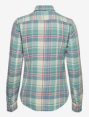 Polo Ralph Lauren - Plaid Cotton Twill Shirt - long-sleeved shirts - 770 faded teal/cr - 2