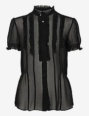 Polo Ralph Lauren - 12MM GGT-SSL-SHT - short-sleeved blouses - polo black - 0