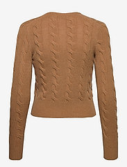 Polo Ralph Lauren - Buttoned Wool-Blend Cardigan - cardigans - collection camel - 1